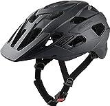 ALPINA Unisex - Erwachsene, PLOSE MIPS Fahrradhelm, black matt, 52-57 cm