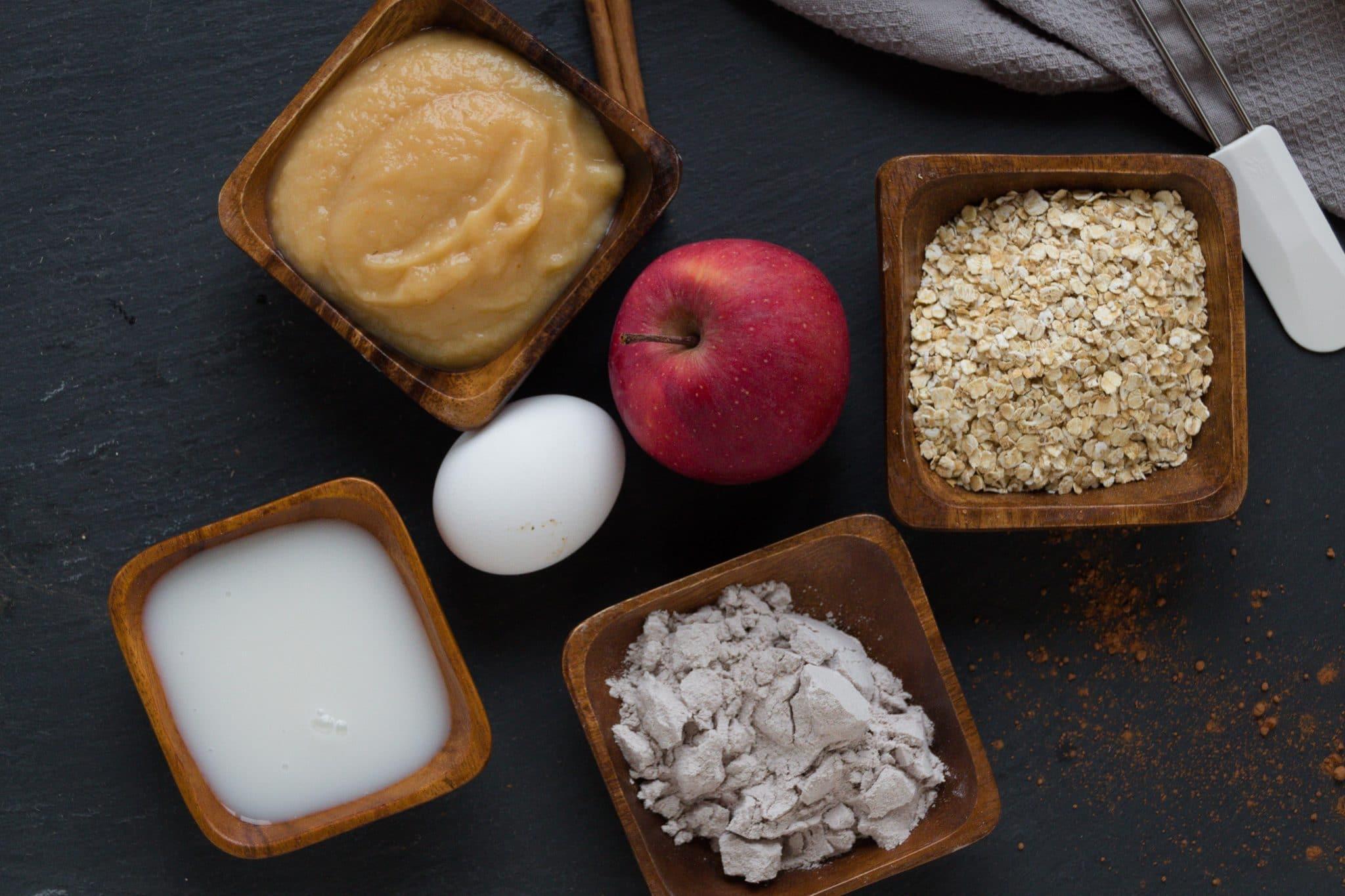 Fitness Rezept Protein Kuchen Schoko Apfel Lisasbuntewelt